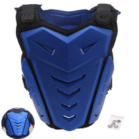 Free Shipping Fly Racing Motorcycle Body Armor Spine Chest Pivotal Roost Guard Motocross Chest Protector Blue