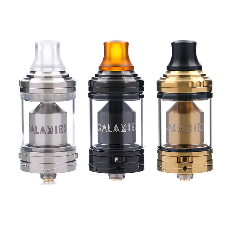 Original Vapefly Galaxies MTL RTA 3ML/5ML capacity Galaxies MTL RTA 8 airflow control brings the best flavor vs Berserker MTL