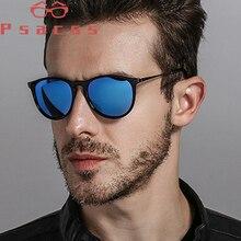 Psacss Round Polarized Sunglasses Men Driving Fishing Sun Gl