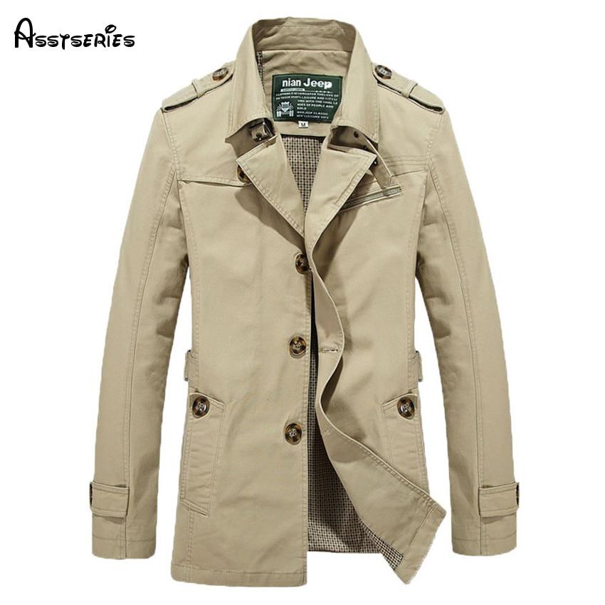 free shipping brand men windbreaker outwear trench coat jaqueta masculina men clothing plus size 3XL 4XL 5XL 98