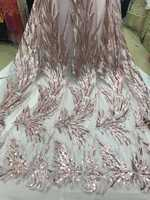 Latest African velvet lace sequins tulle lace Hot new for guipure african sequence lace fabric for Nigerian wedding dresses