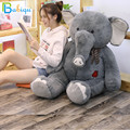 45/70 см большой плюшевый слон  кукла  игрушка  дети  Спящая спина  подушка  милый фаршированный длинный нос  слон  ребенок  сопровождение  Подар...