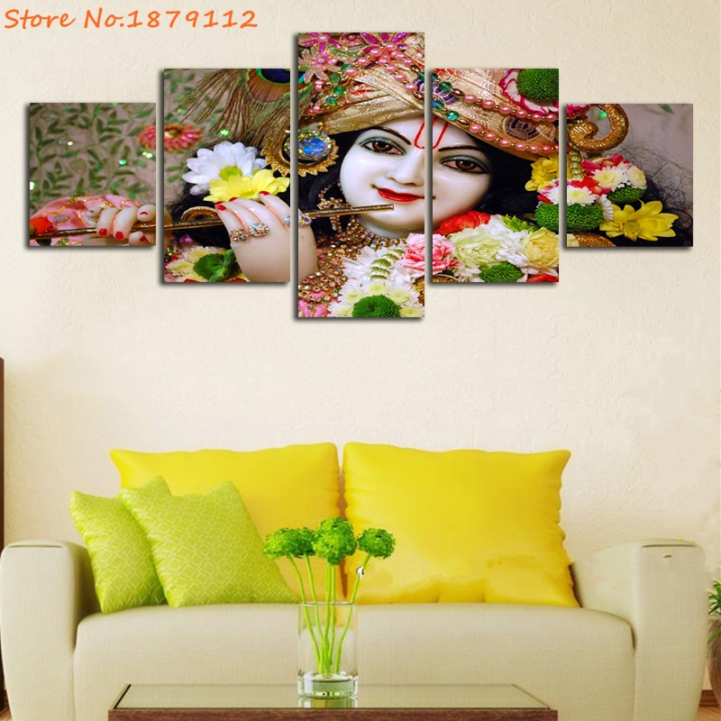 Awesome Krishna Wall Art Images - Wall Art Design - leftofcentrist.com