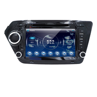 2 DIN Auto-dvd gps für Kia rio k2 2010 2011 2012 in led-schlag-armaturenbrett 2 din auto radio video player k2 rio dvd lenkung rad