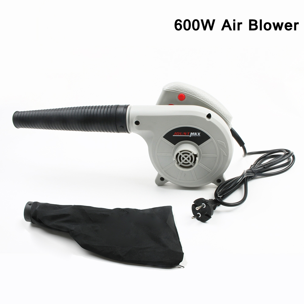New 2 in 1 High Efficiency Electric Air Blower Vacuum Cleaner Blowing / Dust Collecting Computer Dust Collector 600W 220V