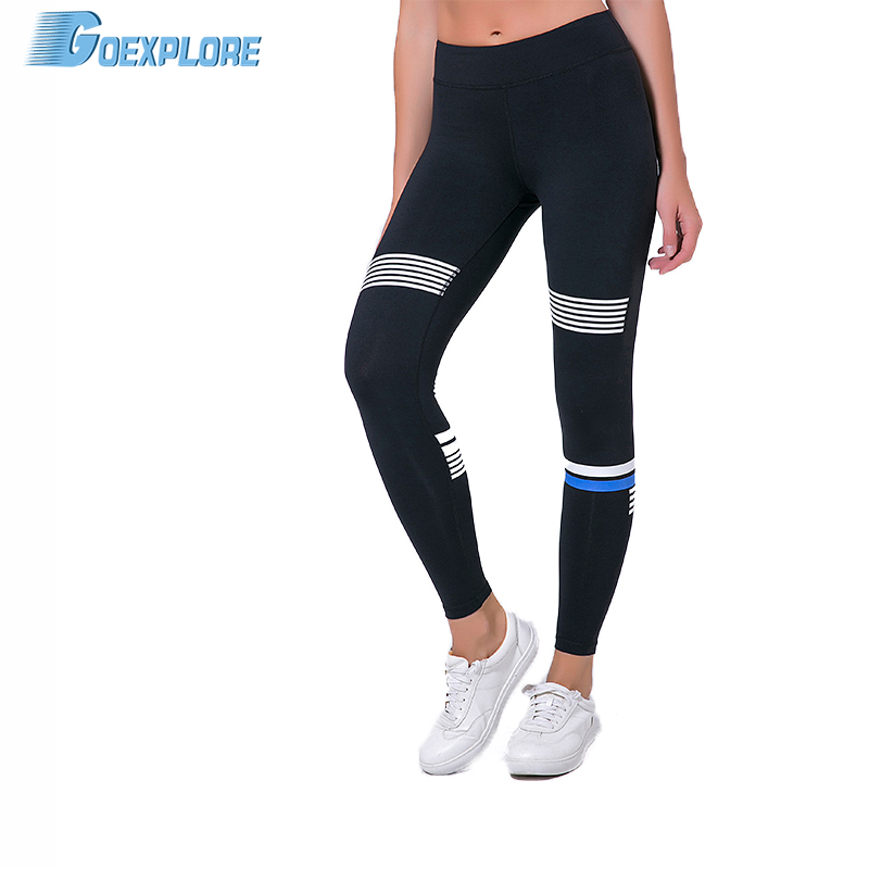 Goexplore Fitness Yoga Sports Leggings Sports Tight Mesh Yoga Leggings Yoga Pants Women Running Pants Tights for Female