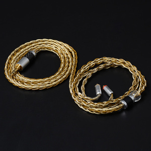 Image 4 - NICEHCK High Quality 8 Core Single Crystal Copper Silver Plated Cable 3.5/2.5/4.4mm MMCX/2Pin For LZ A7 KXXS TFZ NICEHCK NX7 MK3