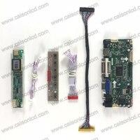 LCD Controller Board Support HDMI DVI VGA AUDIO For LCD Panel 17 Inch 1440X900 Single Light