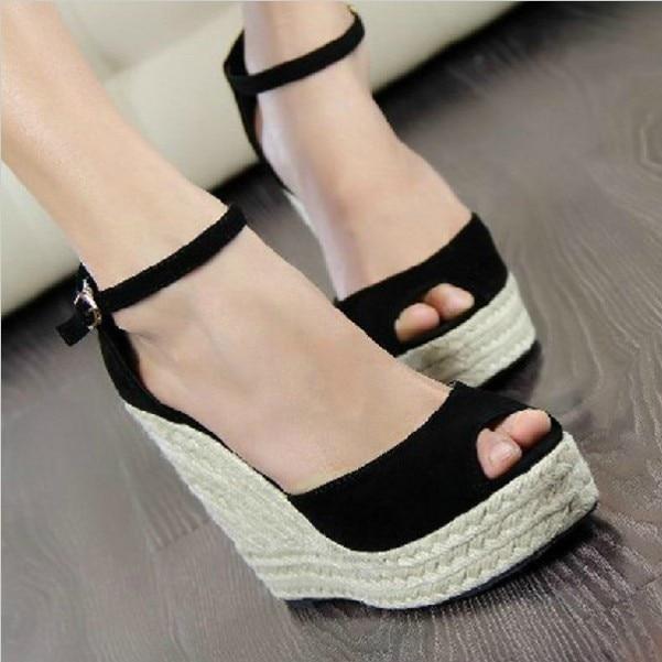 precio baratas elige mejor Tienda online Mujer sandalias zapatos 2015 damas sandalias de tacón alto ...