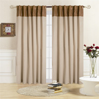 Comforhome NorthFashion Window Curtain Tab Top Drapes Curtains For Bedroom 1 Panel