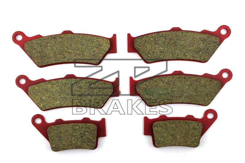 Ceramic Brake Pads Front + Rear For DTCATI Sport Classic/Monoposto/Biposto 1000 992cc 2006-2008 OEM New High Quality ZPMOTO motorcycle brake pads ceramic composite for triumph 800 tiger 2011 2014 front rear oem new high quality zpmoto