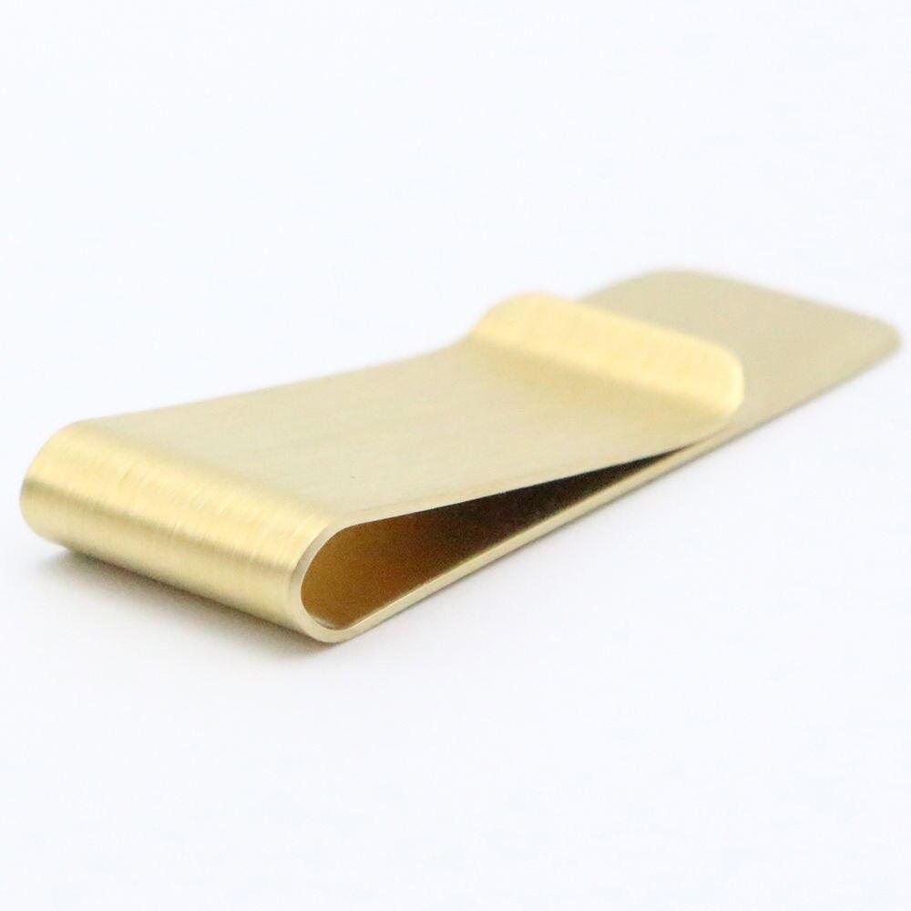 Acier inoxydable couleur or mince pince à billets porte-monnaie portefeuille carte de crédit ID Dollar argent support à pince portefeuille pour hommes livraison gratuite