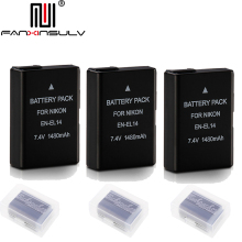 3x EN-EL14 en el14 digital battery for Nikon D5300 SLR camera D5600 D5100 D5200 D5500 D3500 D3400 D3300 D3200 Tracking