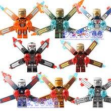 DR. TONGSY1103 Infinito Figura Guerra IronMan Marvel Super Hero Figura Vingador IronMan Set Modelos Building Blocks Brinquedos Presente Das Crianças