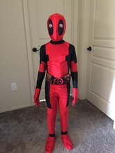 Children Deadpool Costume, Halloween Costume for Kids, Boys Party Cosplay Disfraces Carnival, Toddler Clothing Set