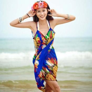 Chiffon Bikini Sarong Beach Wrap