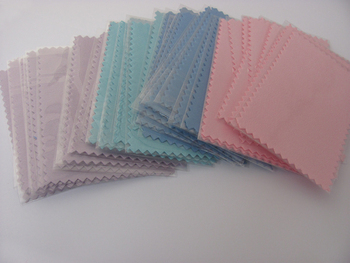 Sample 20pcs/lot Thick Silver Polishing Cloth with PP package for 925 silver Golden Jewelry necessity Best Quality