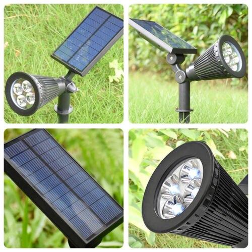 Energia Solar Lâmpada 4 IP65 À Prova