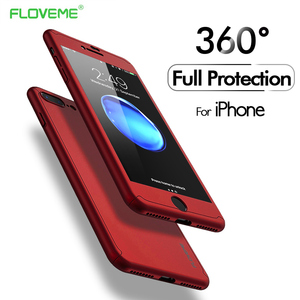 FLOVEME Phone Case For iPhone 6 6S 7 8 Plus XS Max Cases Full Coverage Ultra Slim Hard PC Shells For iPhone XS XR 5S 5 SE Capa
