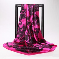 G Hangzhou silk scarf silk scarf shawl large square scarf satin scarf