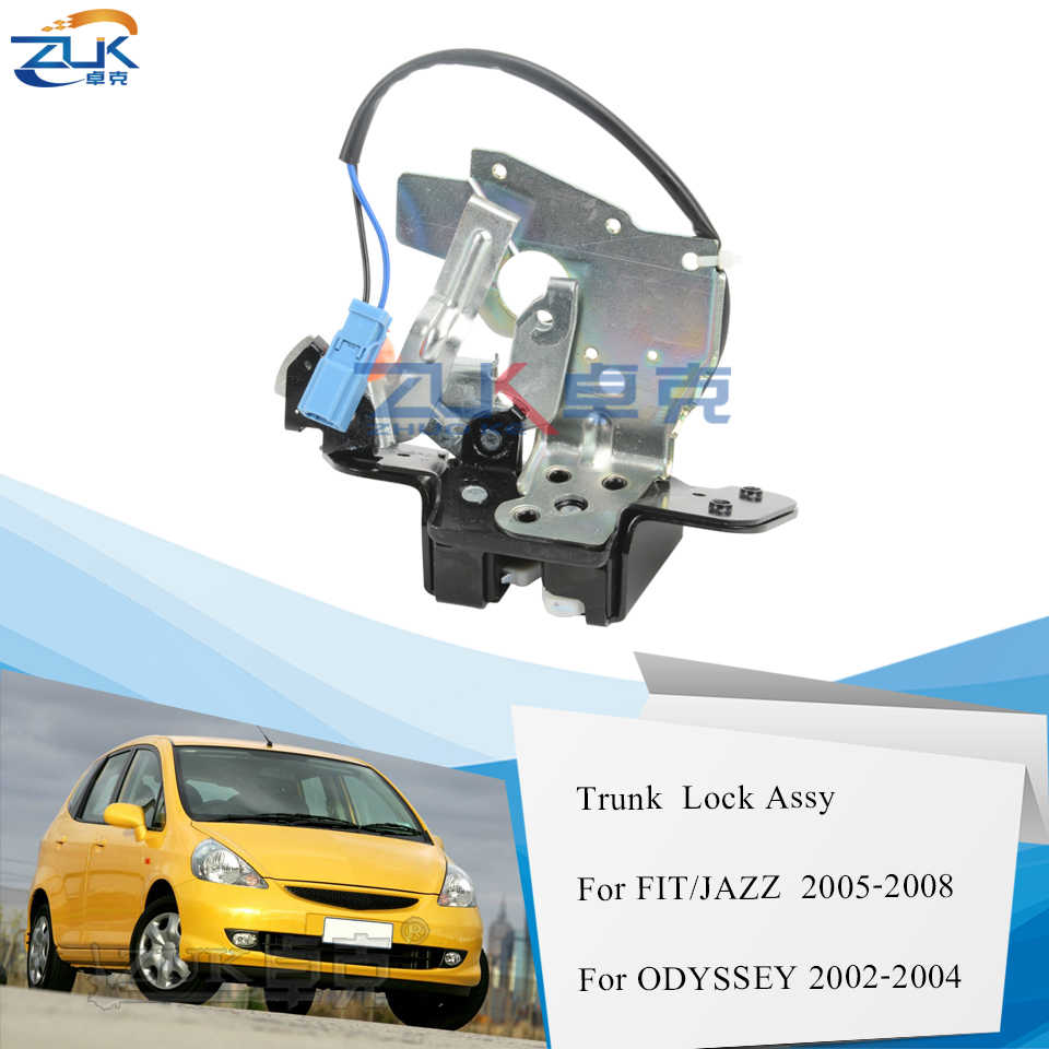 Zuk Tailgate Trunk Lid Rear Back Door Lock Latch Actuator For Honda Fit Jazz 2005 2006 2007 2008 For Odyssey Ra6 Stream Rn3 Aliexpress