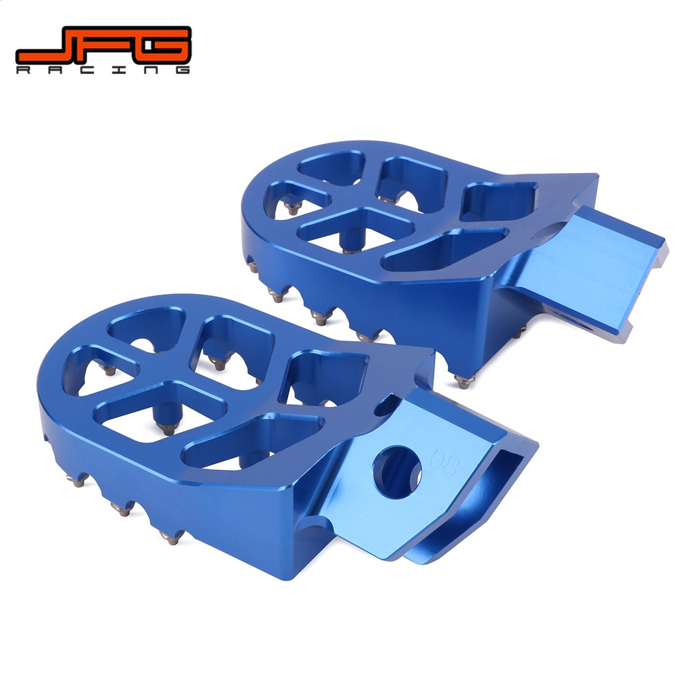 1987-2001 and WR500 YZ250 YZ125 Dirtbike Foot Rest Stomper Footpegs Krator Black Foot Pegs for Yamaha Motocross MX YZ80 WR200 WR250