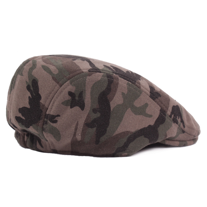 4b6aa03d1b14f 2017 New Winter Beret Man Camouflage Peaked Cap Woolen Keep Warm Hats  European Forward Hat Bounet Girls Master figure color-in Hats   Caps from  Mother ...