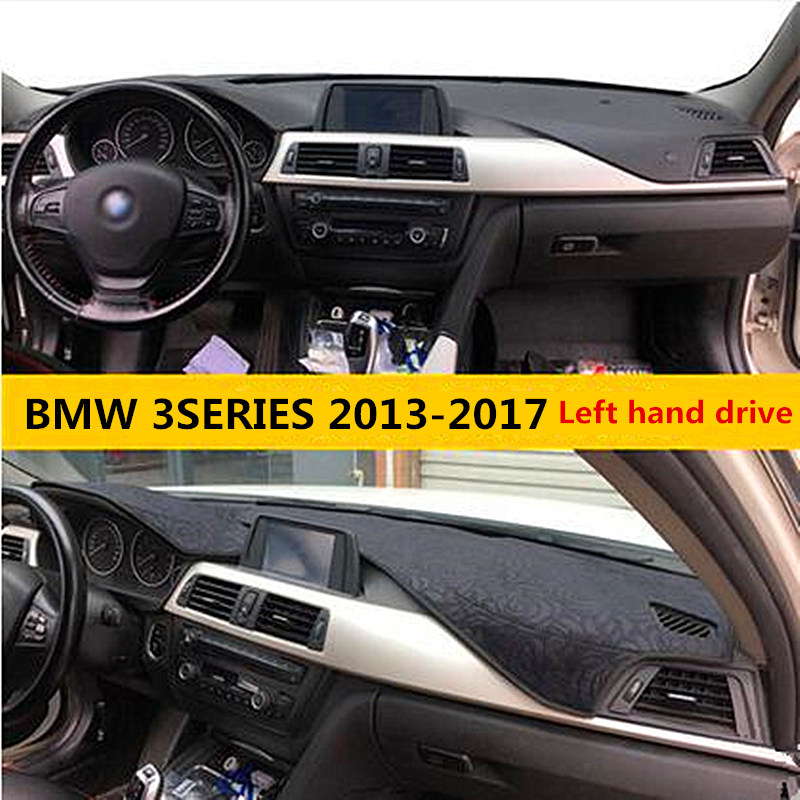 Left Hand Drive Car Dashboard Cover For BMW 3series Luxury