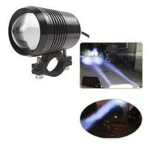 Motorcycle Headlight 1200LM 30W Upper High Low Beam LED Driving Motorbike Fog Light Flash Lamp Motor Headlamp Bulbs