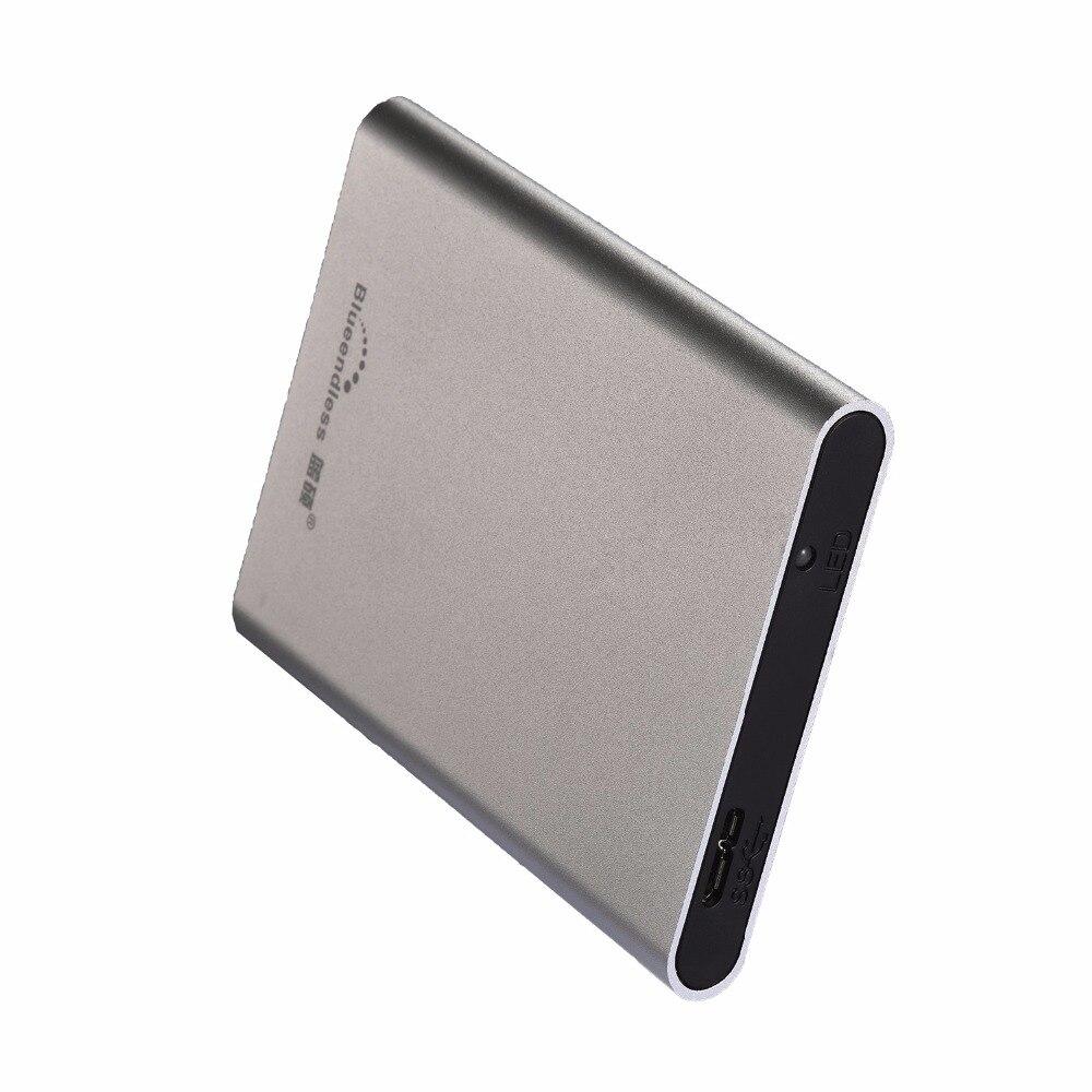 Blueendless USB 3.0 External Hard Drive Disk 500 GB HDD Externo Discoteca Dispositivi di Storage Su Disco HD Con confezione di vendita