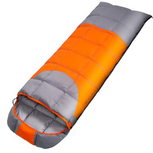 Outdoor Travel Sleeping Bag Autumn And Winter Single Stitching Ultralight Warm Duck Down Camping Sleeping Bag цена в Москве и Питере