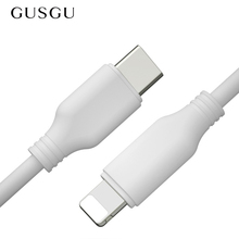 GUSGU PD Cable 18W PD Quick Charger Cable For iPhone X 8 7 6