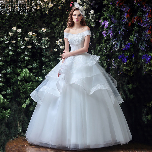 ESBRIDE Vestidos De Noiva 2017 Bridal Gowns Vintage Wedding Dresses ...