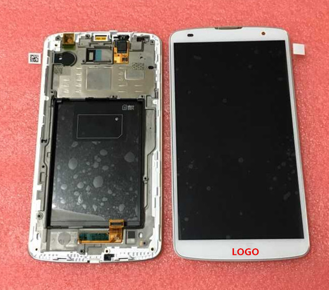 ФОТО LCD screen Display+Touch Digitizer with frame For LG G Pro 2 F350 D830 D837 D838 Black or white free shipping
