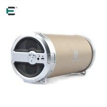 ET Cylinder Tube Bazooka style 3D surround Stereo Bluetooth speaker portable Outdoor Sport caixa de som 1800mAh deep bass box