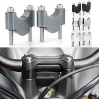 """Per KTM 625 SMC 640 SMC 660 SMC 690 SMC 950 SM 990 SMR 28 millimetri 1 1/8 """"Manubrio riser Fat Bar Risers CNC In Alluminio Billet"""