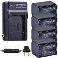Batmax 4 шт. 2670 мАч BN-VG121 VG121 камера батарея akku + зарядное устройство наборы для JVC GZ-HD620 GZ-HD500 GZ-HM320 GZ-HM550 GZ-HM860