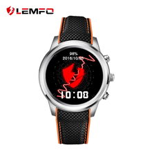 Lemfo LEM5 Smart Watch Android 5.1 OS 1.39″ IPS OLED 400*400 Round Display 1GB+8GB Support GPS WiFi Smartwatch For Android IOS