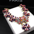 XL83 кристалл 2016 большой ожерелье новая мода цепи макси colares колье воротник femme bijoux ожерелья для женщин аксессуары