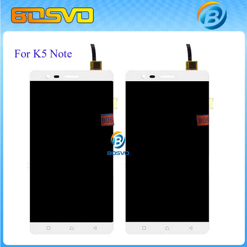 Подробнее о Replacement Full Lcd Display Touch Screen Digitizer Sensor Assembly Complete For Lenovo K5 Note Black White +Tracking number 5pcs lot black for fly iq4503 full lcd display with digitizer touch screen sensor glass assembly parts free tracking no