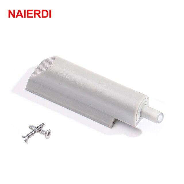 NAIERDI кухонный шкаф дверной стоп ящик мягкий шум отмена тихий близкий доводчик буферы с винтами для мебели оборудования
