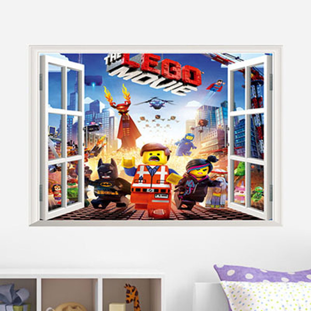 Lego Bedroom Wallpaper Online Buy Wholesale Wall Stickers Lego From China Wall Stickers