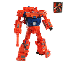 Transformation Wideload Robot Alloy Car Figure Deformation Era Toy 22cm BXJG096
