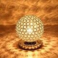 Кристалл Настольные Лампы Для Спальни Чтения Бюро Свет Кристалл Тактильного Датчика Светодиодные Настольные Лампы Тени Lamparas de Mesa