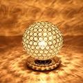 Candeeiros de Mesa de cristal Para O Quarto Sala de Leitura Mesa de Luz Toque Sensor De Led Candeeiro de Mesa de Cristal Sombra Lamparas de Mesa