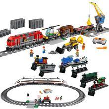 Lepin City Train Station Tracks Power Function Building Blocks Bricks DIY Toys For kids gifts oyuncak legoINGly brinquedos 60050