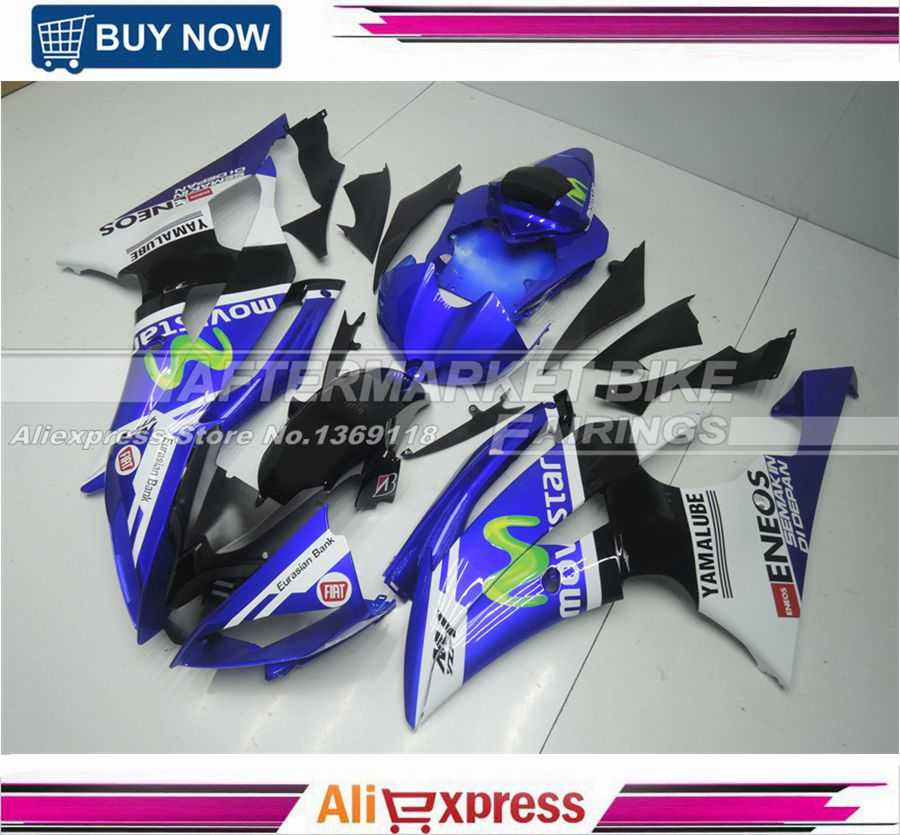 Movistar Color YZF R6 2008 2009 2010 Fairing Kit For Yamaha YZFR6 2011 2012 2013 2014 Full ABS bodywork 08-14 hot sales yzf600 r6 08 14 set for yamaha r6 fairing kit 2008 2014 red and white bodywork fairings injection molding