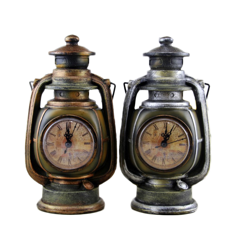 Vintage Retro Watch Oil Lamp Resin Ornament Home Decor Europe Home Decoration Accessories Resin Craft Clock Miniature Model GiftVintage Retro Watch Oil Lamp Resin Ornament Home Decor Europe Home Decoration Accessories Resin Craft Clock Miniature Model Gift