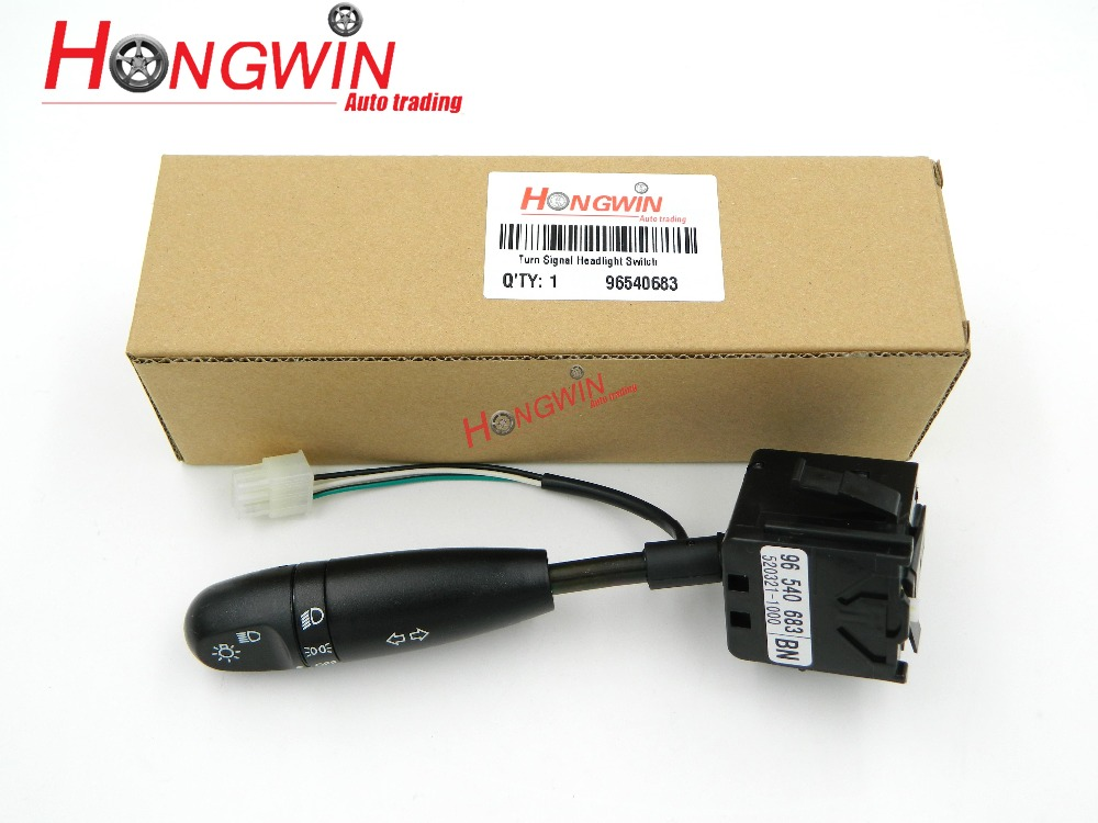 OEM NO.: 96540683 Turn Signal Switch For Chevrolet Aveo/Aveo5 & Pontiac G3/Wave Daewoo Leganza 1997-2004 / 96540684