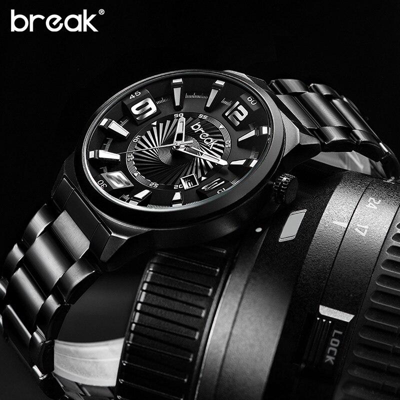 Break Creative Unique Design Luminous Stainless Steel s